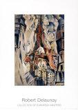 La Torre Eiffel, 1910 Poster di Robert Delaunay
