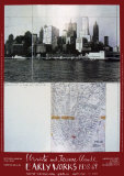 Lower Manhattan, 1964 Affiches par Christo