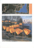 Project for the Gates Prints by  Christo