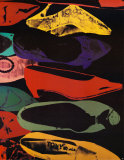 Shoes, 1980-Lg Reproductions pour les collectionneurs par Andy Warhol