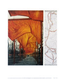 Project for the Gates, IV Posters by Christo