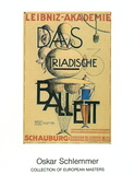 Das Triadische Ballett, 1921 Prints by Oskar Schlemmer