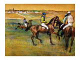 Race Horses Giclee Print by Edgar Degas
