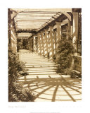 Pergola Prints by Meg Mccomb