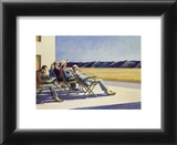 People in the sun Prints by Edward Hopper
