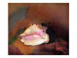 The Shell Giclee Print by Odilon Redon