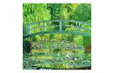 Estanque con nenúfares, armonía verde Lámina giclée por Claude Monet