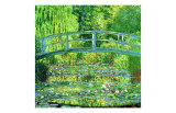 The Water Lilly Pond, Green Harmony Giclee Print by Claude Monet