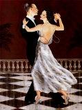 Perlen und Seide (Miniatur) Poster von Jocelyn Haybittel