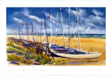 Sailboats Prints by Lois Brezinski