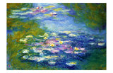 Nympheas, 1907 Giclee Print by Claude Monet