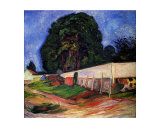 Summer Night at Asgarstrand Giclee Print by Edvard Munch