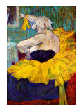 The Lady Clown Cha-U-Kao Giclee Print by Henri de Toulouse-Lautrec