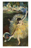Fin d'Arabesque Giclee Print by Edgar Degas