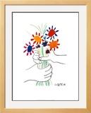 Petite Fleurs Art by Pablo Picasso