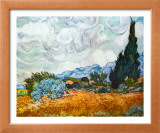 Cypress Trees Posters by Vincent van Gogh