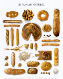 Natural Bread Poster