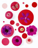 Red Spots Prints by Camille Soulayrol