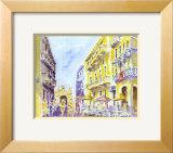 Street Scene, Puerto Rico Prints by J. Presley
