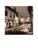 Caffe, Asolo, Veneto Poster by Alan Blaustein