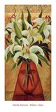 White Lilies Poster by Miroslav Bartak