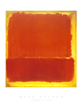 Number 12, 1951 Posters por Mark Rothko
