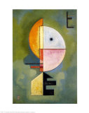 Hommage a Grohmann Poster af Wassily Kandinsky