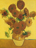 Fifteen Sunflowers Prints by Vincent van Gogh