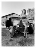 Pin-Up Girl: Street Rod Hula Giclee Print by David Perry