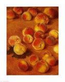 Pêches Posters par Claude Monet