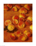Peaches Posters by Claude Monet