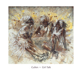 Girl Talk Poster by  Cullen