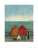 Doris Earwigging Prints by Sam Toft
