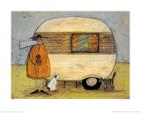 Ein Zuhause in der Ferne Poster von Sam Toft