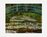 Bridge At Giverny Plakater af Claude Monet