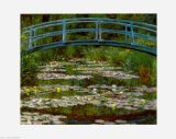 Claude Monet - Bridge at Giverny Obrazy