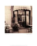 Café, Umbrien Poster von Alan Blaustein