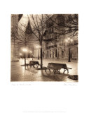 Plaza de Porlier, Oviedo Print by Alan Blaustein