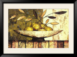 Apples on Silk Art by Constance Bachmann