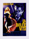 La Dolce Vita de Federico Fellini Affiches par  The Vintage Collection