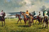 Graham Isom - Sandown Racecourse Sběratelské reprodukce