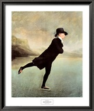 Rev Robert Walker Skating on Duddin Prints by Sir Henry Raeburn