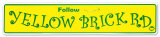 Yellow Brick Road Tin Sign