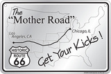Mother Road Tin Sign