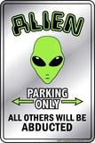 Alien Small - Metal Tabela