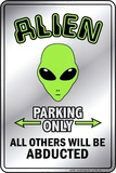 Alien Small Tin Sign