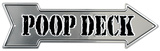 Poop Deck Tin Sign