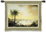 View of Naples Wall Tapestry by Pietro Fabris