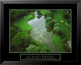 Achievement - Golf Course Poster