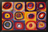 Estudio de color Fotografa por Wassily Kandinsky